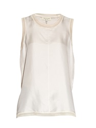 Rag And Bone Maude Sleeveless Silk Top