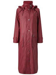 Four Seasons Waterproof Wax Coat Cherry