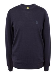 Pretty Green Mosely Crew Neck Jumper Navy
