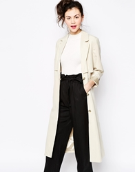 Monki Duster Coat Beige