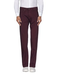 Heaven Two Trousers Casual Trousers Men Deep Purple