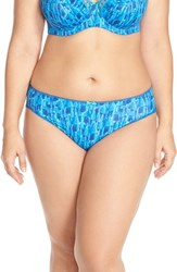 Plus Size Women's Elomi 'Thandie' Print Briefs
