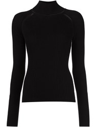 Misha Nonoo 'Beatrice' Knitted Blouse Black