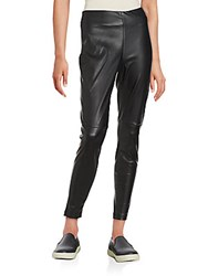 Bagatelle Pleather Legging Black