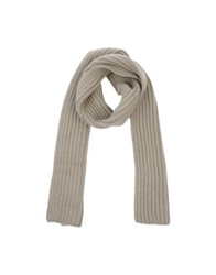 Neil Barrett Oblong Scarves Beige