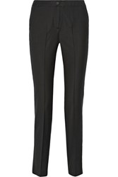 Karl Lagerfeld Rachel Wool Twill And Organza Tuxedo Pants