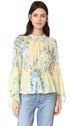 Alice Mccall Love On Top Blouse Butter Blossom