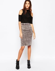 Cheap Monday Dim Skirt Ice Stripe Stone Multi