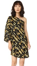 Zero Maria Cornejo Triptych Dress Sunflower