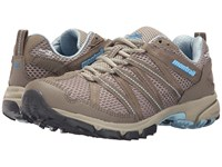 Montrail Mountain Masochist Iii Outdry Silver Sage Sky Blue Women's Shoes Brown