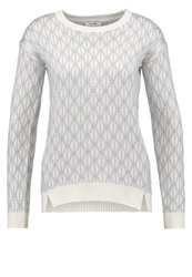 Kiomi September Jumper White Light Grey