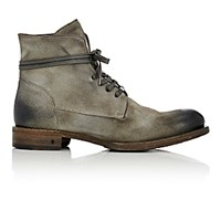 John Varvatos Men's Rivington Wire Boots Dark Grey