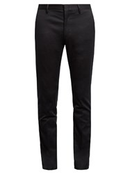 Paul Smith Stretch Cotton Chino Trousers Navy