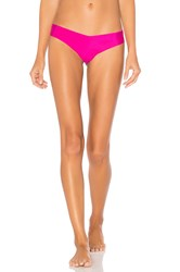 Commando Solid Thong Pink