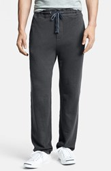 James Perse Men's 'Classic' Sweatpants Carbon Pigment
