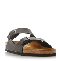 Birkenstock Arizona Two Bar Mule Sandals Black