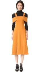 Whistles Hester Dress Orange