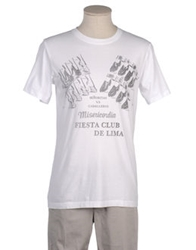 Misericordia Short Sleeve T Shirts White