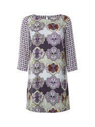 White Stuff Butterfly Perfection Tunic Purple