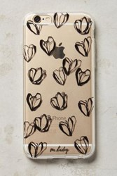 Anthropologie Backdrop Blooms Iphone 6 Case Black