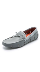 Swims Lace Loafers Grey Sparkle
