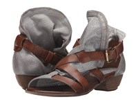 Miz Mooz Cassidy Pewter Women's Sandals