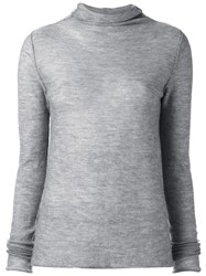 Kristensen Du Nord Roll Neck Jumper Grey