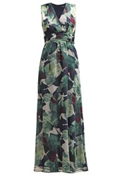 More And More Maxi Dress Pinetree Multi Green