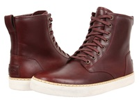 Braun Cordovan Leather Men's Lace Up Casual Shoes Brown