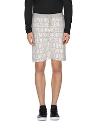 Opening Ceremony Trousers Bermuda Shorts Men Light Grey