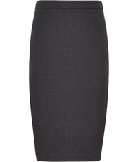 Austin Reed Charcoal Mini Dogstooth Skirt Grey