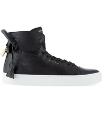 Buscemi 125Mm Handle Heels Trainers Blk White
