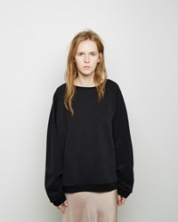Organic By John Patrick Elbow Stitch Sweatshirt Black