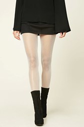 Forever 21 Semi Sheer Fishnet Tights