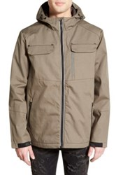 Tavik 'Focal' Waterproof Hooded Jacket Green