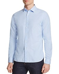 The Men's Store At Bloomingdale's Solid Classic Fit Button Down Shirt Light Blue