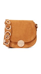 Foley Corinna Megan Saddle Bag Honey Brown