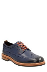 Clarksr Men's Clarks 'Pitney Limit' Wingtip Blue Leather