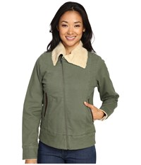Mountain Khakis Ranch Shearling Jacket Olive Drab Women's Coat