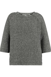 Goat Wycliffe Knitted Cotton Sweater Gray