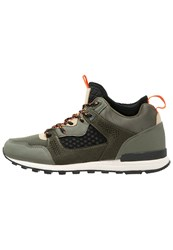 Your Turn Hightop Trainers Olive Black
