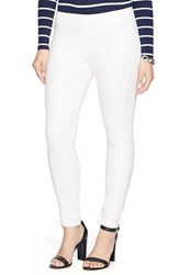 Plus Size Women's Lauren Ralph Lauren Stretch Cotton Blend Skinny Pants