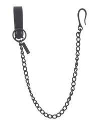 Dsquared2 Small Leather Goods Key Rings Men Black