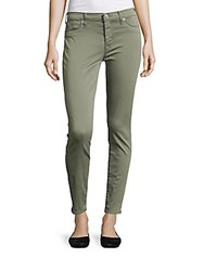 Hudson Nico Mid Rise Ankle Jeans Green