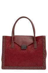 Loeffler Randall 'Work' Genuine Calf Hair Tote