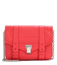 Proenza Schouler Ps1 Chain Leather Clutch Red
