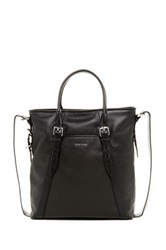 Cole Haan Pebble Leather Shopper Tote Black