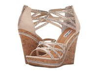 Not Rated Coral Sea Nude Women's Wedge Shoes Beige