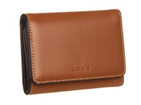 Lodis Audrey Mallory French Purse Toffee Wallet Handbags Brown
