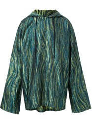 Strateas Carlucci 'Sterile' Hooded Sweater Green